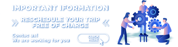 REPROGRAM YOUR TRIP FREE OF CHARGE - TICKET ONLINE